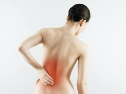 Lower back pain and massage.